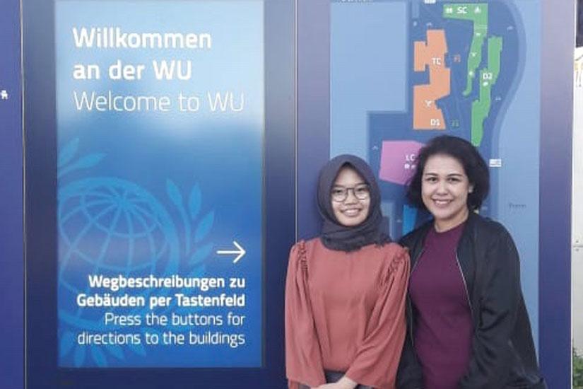 Dua Profesional DDTC Dalami Praktik Benchmarking di WU