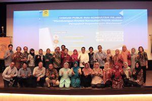Darussalam - Diskusi Publik RUU Konsultan Pajak