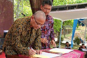Darussalam - Penandatanganan MoU antara DDTC dengan Universitas Diponegoro