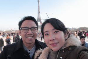 Yusuf W. Ngantung & Cindy Kikhonia Feby- Konferensi Pajak HNWI di Vienna