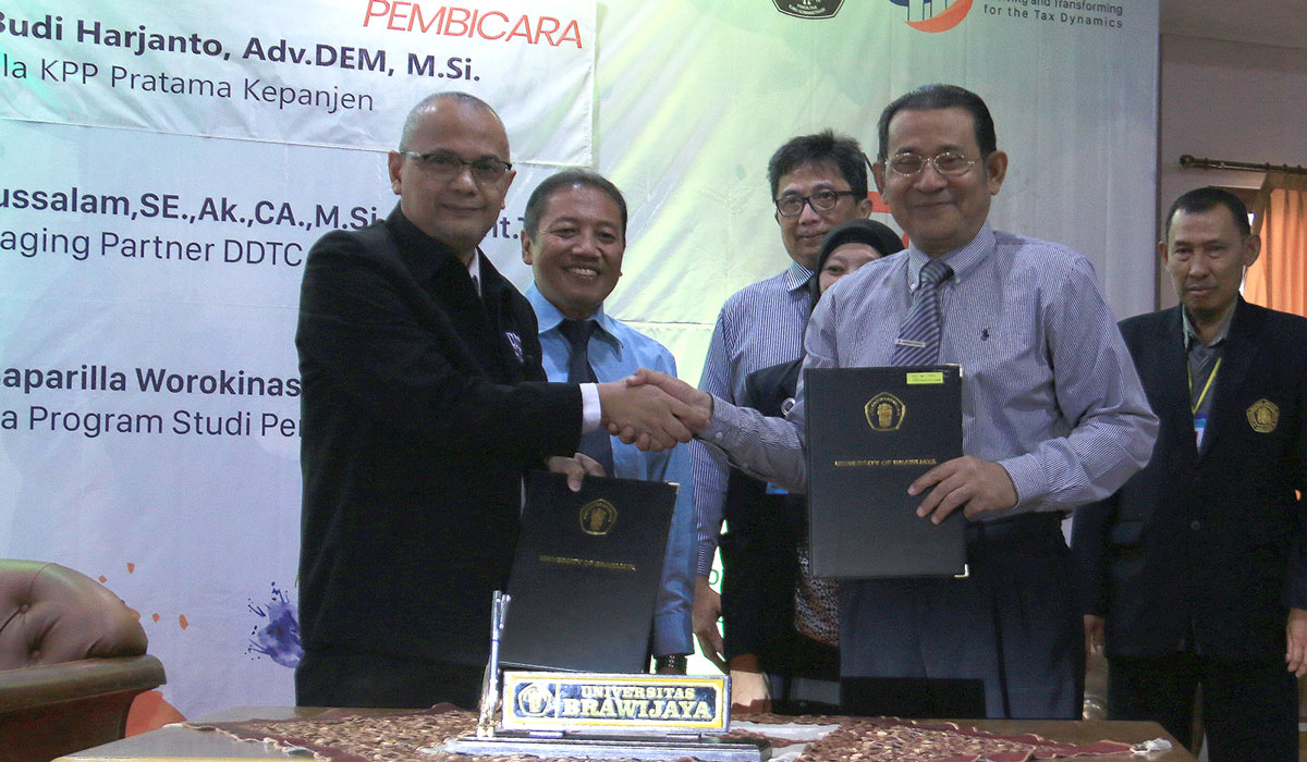 MoU between Brawijaya University and DDTC