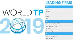 DDTC was awarded by International Tax Review's World Tax and World Transfer Pricing 2019