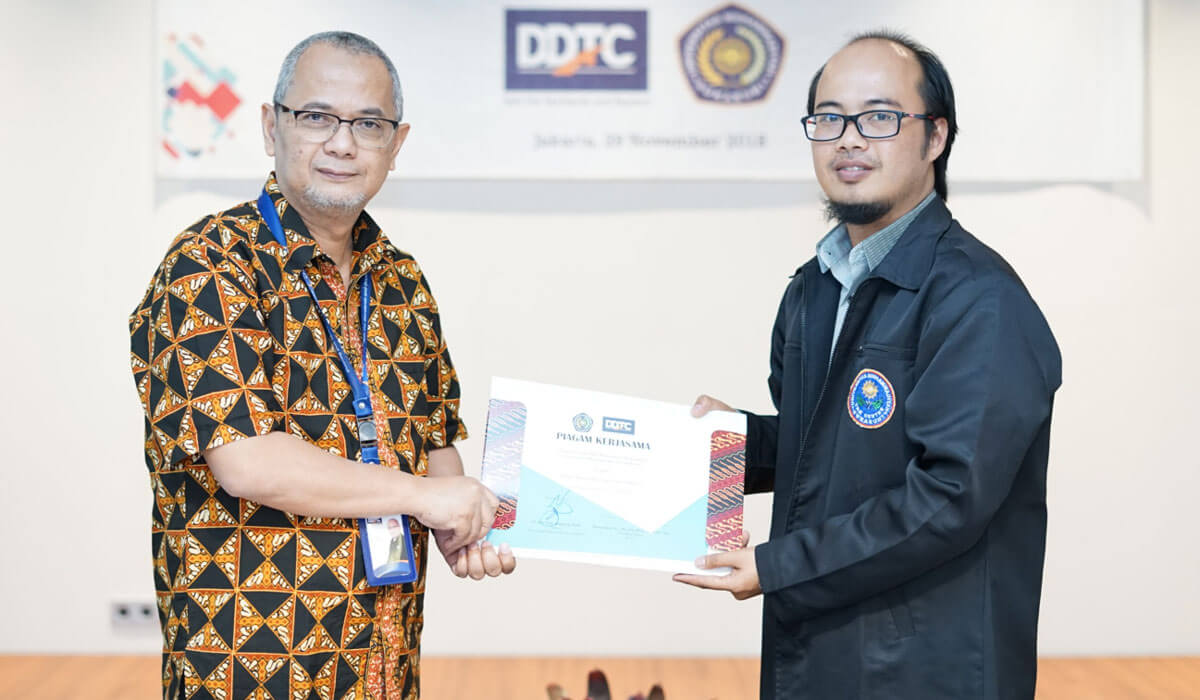 MoU between Muhammadiyah Sukabumi University (UMMI) and DDTC