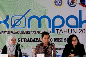 CSR - Airlangga University National Tax Competition (KOMPAK) 2015