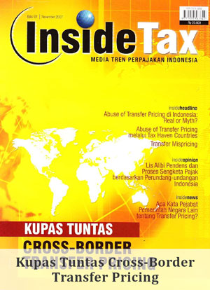 Inside Tax Edisi 1 - Kupas Tuntas Cross-Border Transfer Pricing
