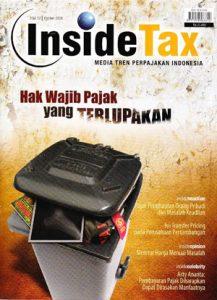 Inside Tax Edisi 12 - Hak Wajib Pajak yang Terlupakan