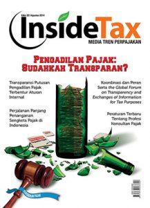 Inside Tax Edisi 22 - Pengadilan Pajak: Sudahkah Transparan?