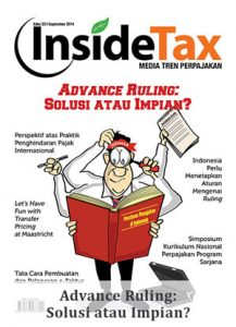 Inside Tax Edisi 23 - Advance Ruling: Solusi atau Impian?