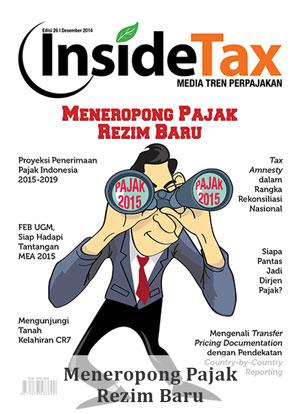 Inside Tax Edisi 26 - Meneropong Pajak Rezim Baru