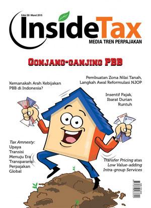 Inside Tax Edisi 29 - Gonjang-ganjing PBB