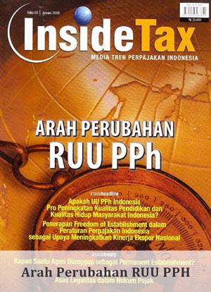 Inside Tax Edisi 3 - Arah Perubahan RUU PPH