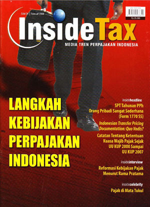 Inside Tax Edisi 4 - Langkah Kebijakan Perpajakan Indonesia
