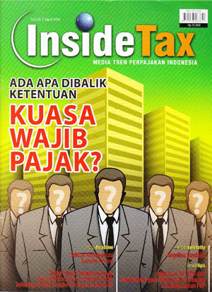 Inside Tax Edisi 5 - Ada Apa Dibalik Ketentuan Kuasa Wajib Pajak?