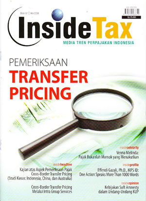 Inside Tax Edisi 7 - Pemeriksaan Transfer Pricing