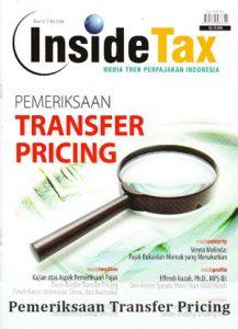Inside Tax Edisi 7 - Pemeriksaan Transfer Pricing