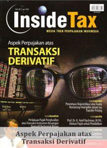 Inside Tax Edisi 8 - Aspek Perpajakan atas Transaksi Derivatif