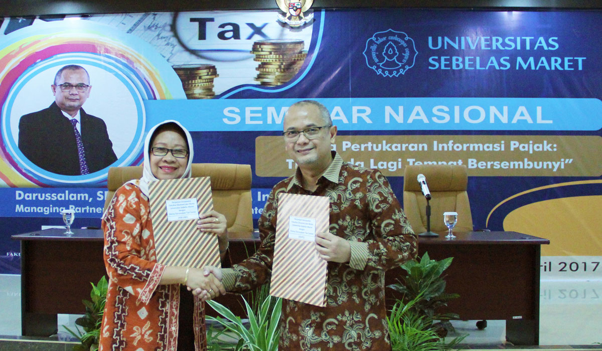 MoU between Sebelas Maret University and DDTC