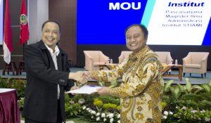 MoU between Institut Sekolah Tinggi Ilmu Administrasi Mandala Indonesia (STIAMI) and DDTC