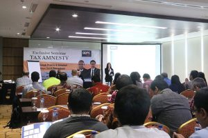 CSR - Tax Amnesty Simulation and FAQ (Surabaya)