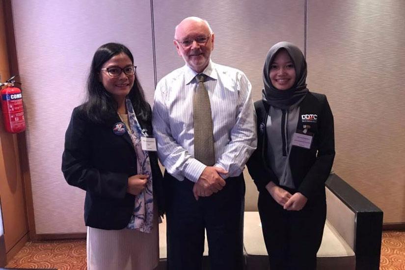 Niken & Tami - Digital Economy Symposium 2017