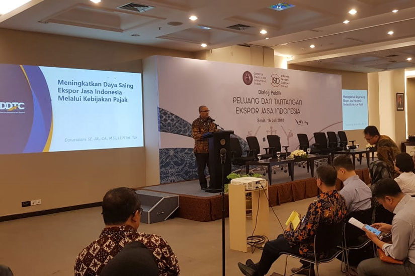 Darussalam - Dialog Publik Peluang dan Tantangan Ekspor Jasa Indonesia