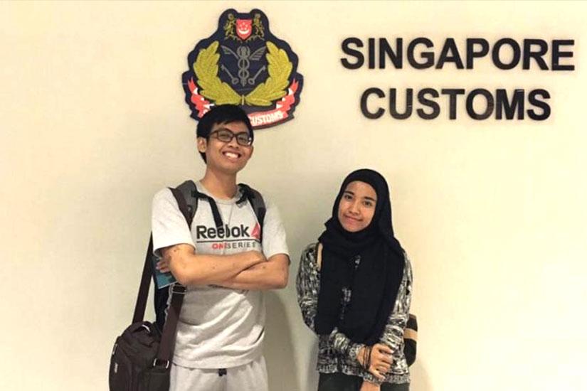 Singapore 2017 (Riyhan Juli Asyir dan Khisi Armaya Dhora)