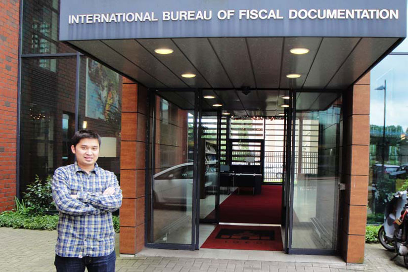 HRDP at International Bureau of Fiscal Documentation (Romi Irawan)