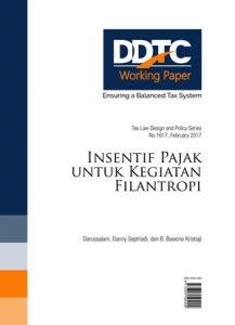 Working Paper - Insentif Pajak untuk Kegiatan Filantropi