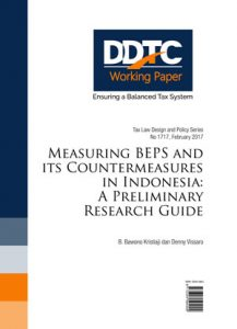 Working Paper - Measuring BEPS and Its Countermeasures in Indonesia: A Preliminary Research Guide