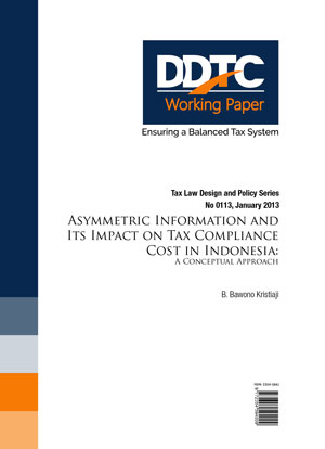 Working Paper - Asymmetric Information & Its Impact On Tax Compliance Cost In Indonesia