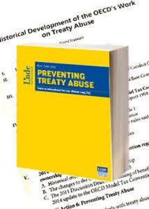 International Publication - Historical Development of the OECDs Work on Treaty Abuse