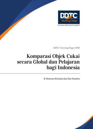 Working Paper - Komparasi Objek Cukai secara Global dan Pelajaran bagi Indonesia