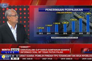 "Darussalam - Hot Economy, Berita Satu, ""Amunisi Baru Bidik Pajak"""