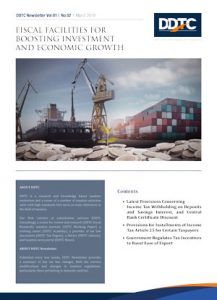 Newsletter - Fiscal Facilities For Boosting Investment and Economic Growth