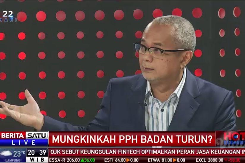 """Darussalam - Hot Economy, Berita Satu, """"Mungkinkah PPh Badan Turun"""""""