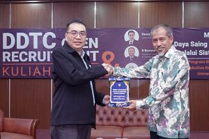 Danny Septriadi - Kuliah Umum & Open Recruitment DDTC di FIA UB