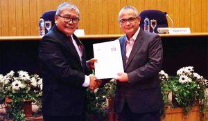 MoU between Sekolah Tinggi Ilmu Ekonomi Yayasan Keluarga Pahlawan Negara (STIE YKPN) and DDTC