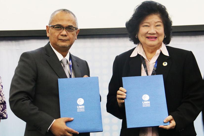 Darussalam - Penandatanganan MoU antara DDTC dengan Universitas Multimedia Nusantara