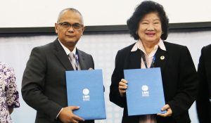 MoU between Multimedia Nusantara University and DDTC