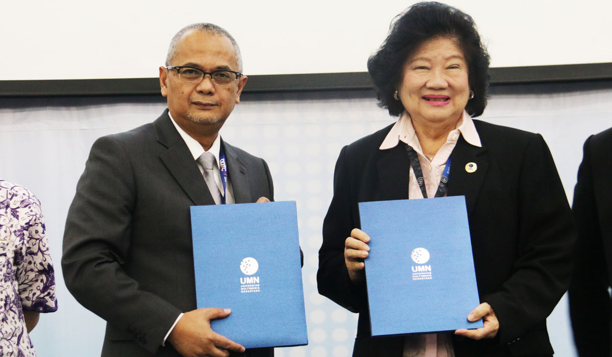 MoU between Multimedia Nusantara University and DDTC