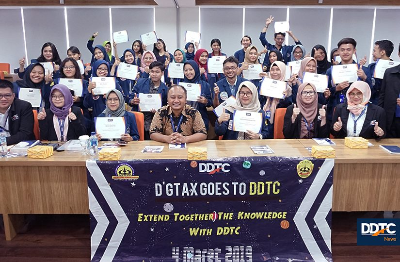 CSR - D'Generation of Tax Trisakti Goes to DDTC