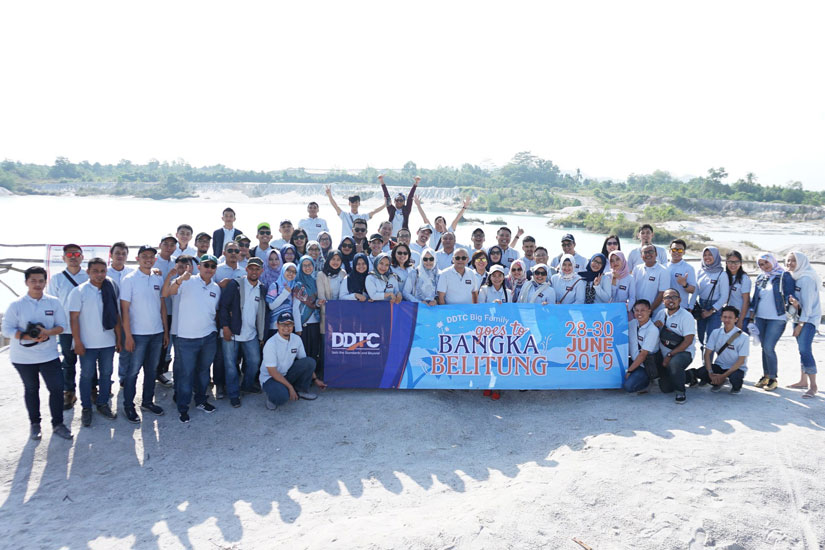 DDTC Goes to Belitung Island 2019