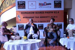 Darussalam - Kongkow Bisnis Pas FM (Berharap Tax Amnesty Jilid 2)