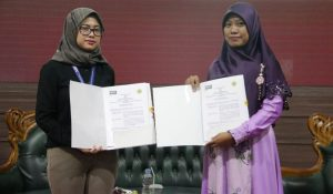 MoU between Sultan Ageng Tirtayasa University and DDTC
