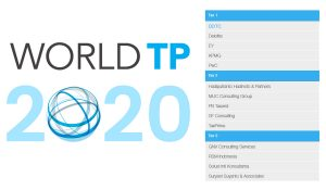 Rankings (World TP 2020)
