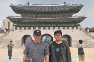 Yusuf Wangko Ngantung & David Steven Macquairie - Korea Selatan