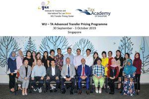 Advanced Transfer Pricing Programme Course - Singapura