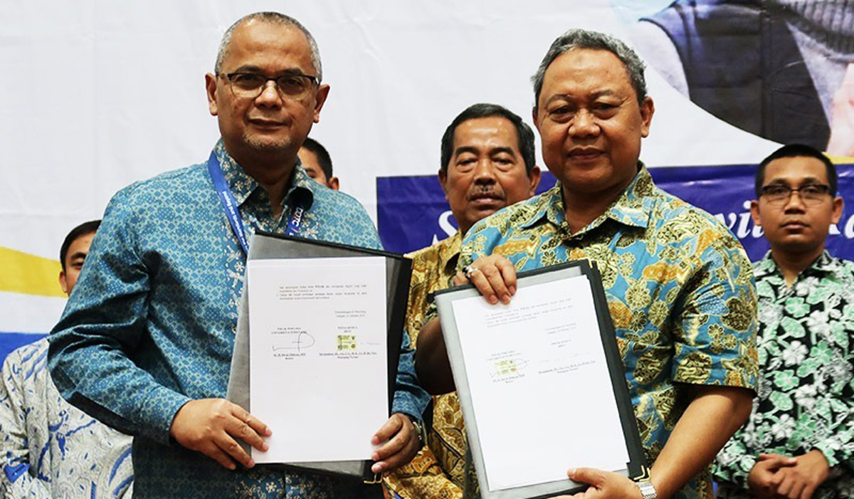 MoU between Pamulang University and DDTC