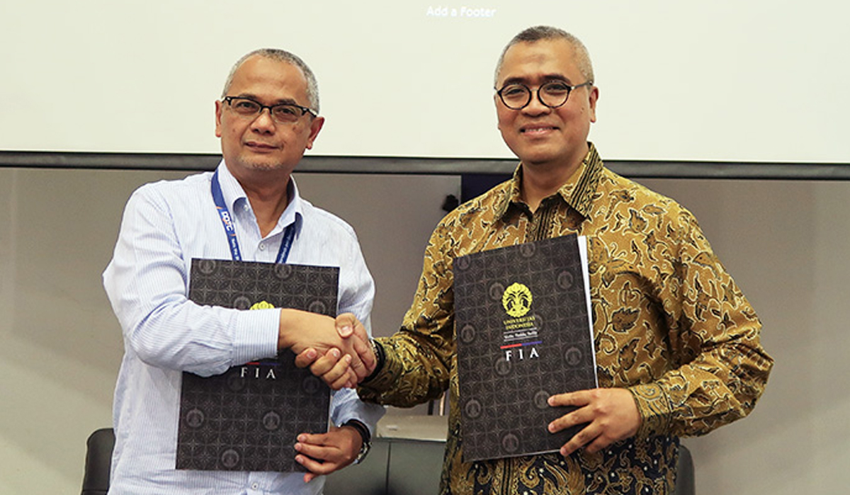 MoU between Faculty of Administration Sciences the University of Indonesia and DDTC
