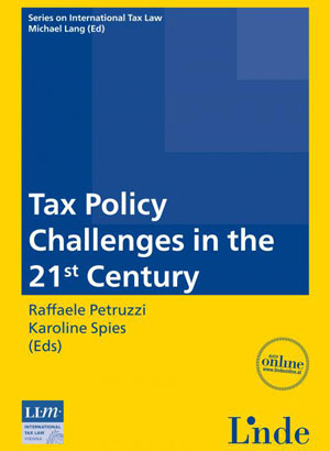 International Publication - Political Economy and the Process of Tax Reforms